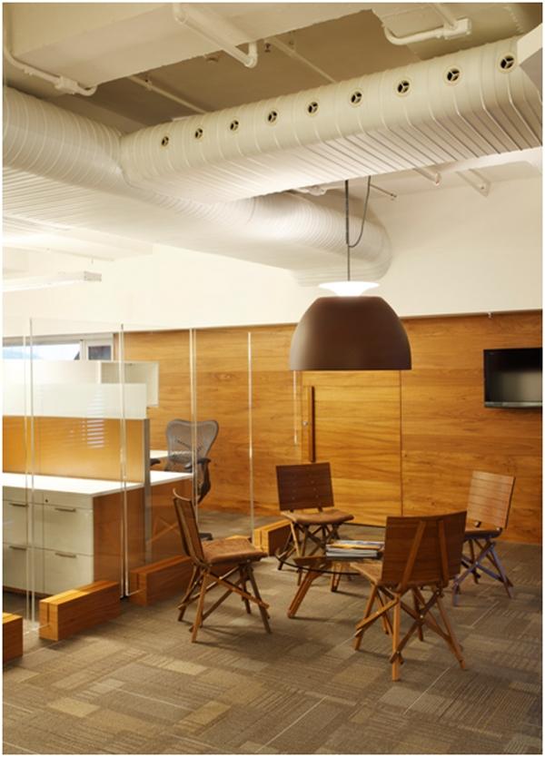 Carpetes em escritórios corporativos