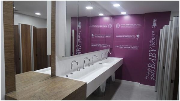 Projetos e Decoração de Banheiros Corporativos