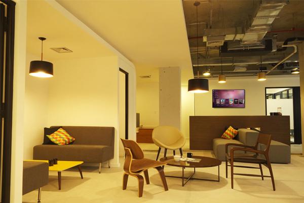 Utilização de móveis residenciais em escritórios