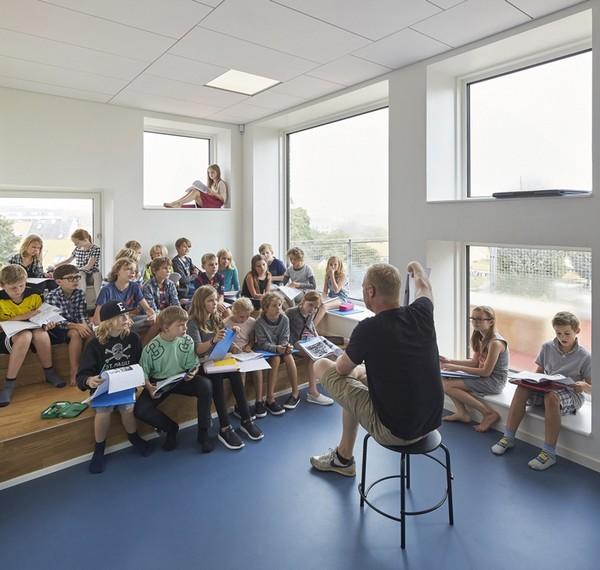 Design de interiores para escolas